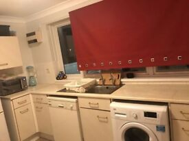 One bed flat partly furnished, recently renovated