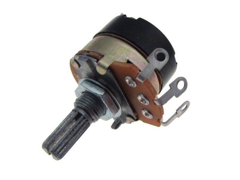 20K Potentiometer Pot Knurled  w/ Switch