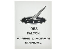 New 1963 Falcon Wiring Diagram Manual Electrical Schematic ...
