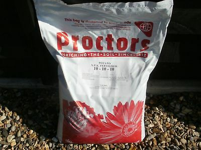 40kg of Proctors Potato and Vegetable fertiliser, super vegitator fertilizer