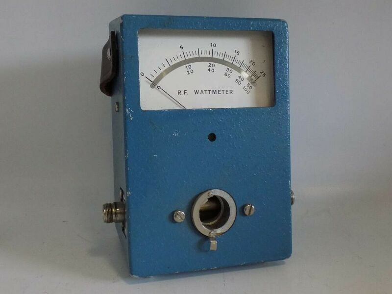 SAVE 50% COAXIAL DYNAMICS 81000A MIRRORED SCALE DIRECTIONAL R.F. WATTMETER