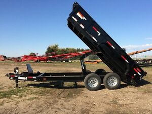 2016 Diamond C 24-LPD Dump Trailer