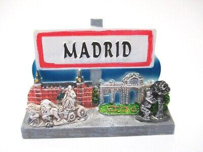 Madrid Hauptstadt Magnet Souvenir Spanien Espana Spain 7 cm (Magnet Madrid)