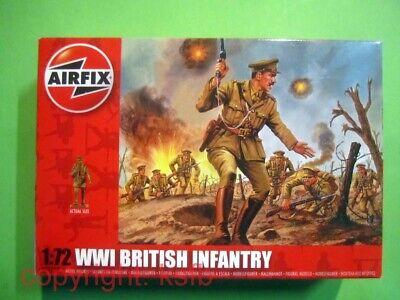 1:72 Airfix Figuren #01727 WKI britische Soldaten British infantry Soldiers