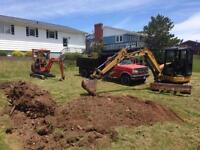 Bobcat and Mini hoe services