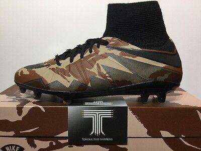 """Nike Hypervenom Phantom II SE FG """"Camo Pack"""" ~ 835367 200 ~ U.K. Size 7"""