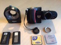 Nikon Coolpix 4500 DigiScope + Nikon SL-1 + Accessories