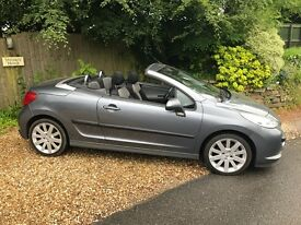 PEUGEOT 207 GT COUPE CABRIOLET (grey) 2007