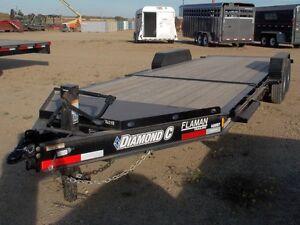 2016 Diamond C 48 HDTL 22' Equipment Hauler Trailer