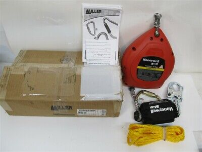 Miller Mp20g-le Falcon 20 Edge Self Retracting Wire Rope Life Line 420 Lbs.