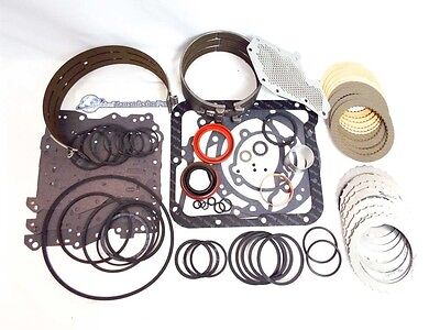 Complete Ford C4 Master Transmission Rebuild Kit 1970-1981 2WD w/ Both -