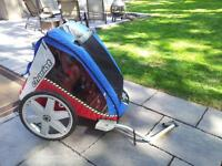 Spring is approaching-Family Biking-Chariot for the little ones!