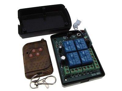 Smart DC12V 4CH Channel 315MHz Wireless Remote Control Relay Module