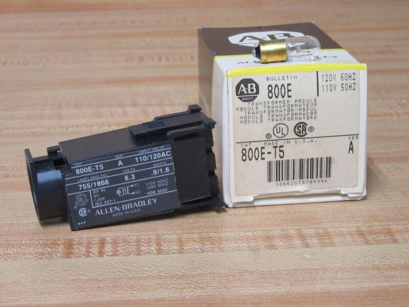 Allen Bradley 800E-T5 Transformer Module 800ET5