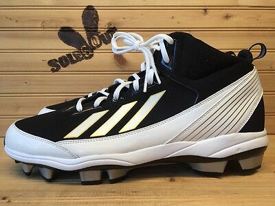 the best attitude 374d5 7cde5 New Adidas Poweralley TPU Mid Chase Headley PE Baseball Cleats sz 12.5  Sample