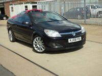 VAUXHALL ASTRA TWIN TOP EXCLUSIV BLACK (black) 2008