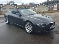 2007 BMW 630i Sport Convertible HEADS UP DISPLAY, SAT NAV, DAB, P/X, FINANCE, CREDIT CARDS WELCOME