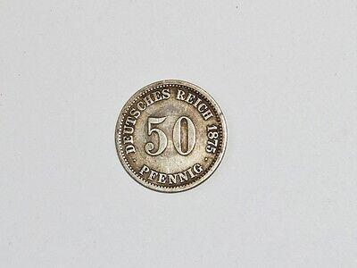 50 Pfennig Deutsches Reich 1875