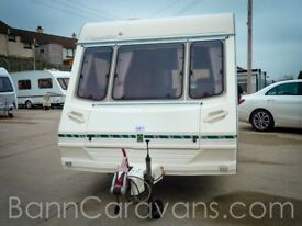 (Ref: 884) Abbey Stafford County Great Family Starter Touring Caravan 5 Berth