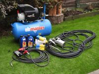 Tiger B/510 Turbo - Air Master Compressor + Extras