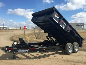 2017 Diamond C 24LPD  Dump Trailer