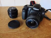 Canon EOS 60D Camera package with 2 Lenses