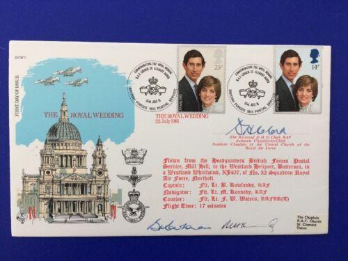 FDC Royal Wedding Diana Prince Charles 1981-Limited Edition No 1977 of 2545.