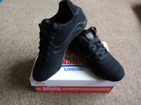 Lonsdale Camden Men's Trainers Black Size UK 7 EUR 41 US 8 New With Box