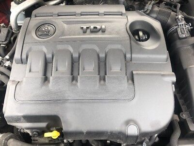 VW AUDI SEAT SKODA 16 TDi COMPLETE  All Ancillaries Diesel Engine CLHA 92k