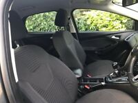 2015 Ford Focus titanium front and rear seats