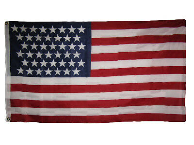 3x5 USA American 43 Star Linear 1890-1891 Historical Flag 3'x5' Banner Grommets