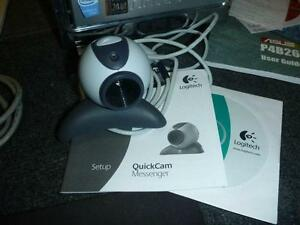 Logitech QuickCam Messager Built-in Mic Snap Shot Button