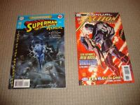 SUPERMAN ACTION COMICS ANNUAL- ISSUES 9 AND 13