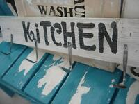 stunning hand made wooden signs, reclaimed wood