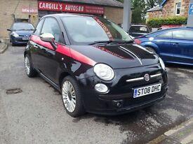 FIAT 500 SPORT (black) 2008
