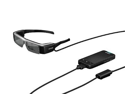 EPSON MOVERIO BT-200 Smart Glass See-Through Mobile Head Mount Display