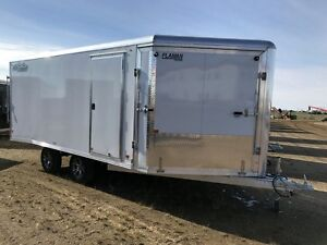 2017 High Country HES101X16 Enclosed Snowmobile Trailer