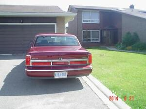 1997 American Lincoln Town Car Cartier