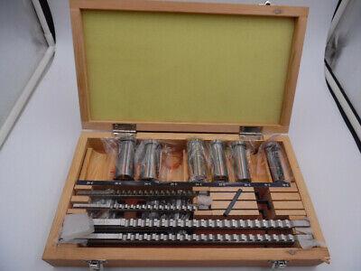 18pcs Hss Metric Keyway Broach Set 4568mm 12-28 Cutting Broaching Bushings