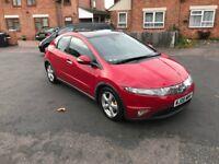 Honda Civic ES I-CDTI 2.2 Diesel 2008 6 Speed Panoramic SunRoof Top Spec