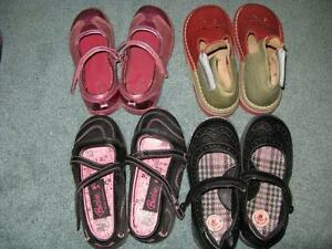 Little Girls Fall/Winter Shoes Size 10