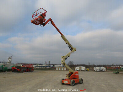 2008 Jlg E450aj 45 Electric Articulating Boom Lift Man Aerial Bidadoo -repair