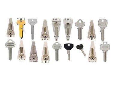 (340-Mixed Lot) Hillman Blank House, Office, Padlock + Automobile Keys