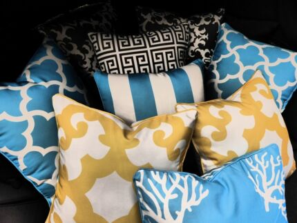 OUTDOOR pillows Water & UV resistant 50cm x 50cm SAVE! Hendon Charles Sturt Area Preview
