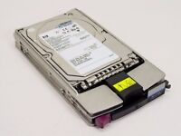 14 x hdd scsi 36.4 GB HP with matrix rack (fourteen disc)