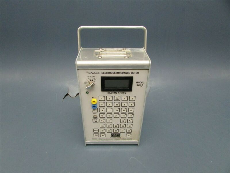 USED GRASS Electrode Impedance Meter F-EZM4A