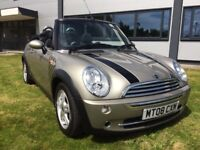 MINI CONVERTIBLE ONE (silver) 2008