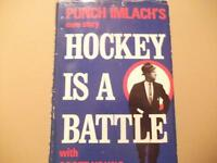 PUNCH IMLACH'S 1ST EDITION BOOK 1969 HOCKEY