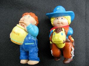 "1984 CABBAGE PATCH KIDS 2.5"" PVC FIGURES - COLLECTOR CONDITION"