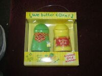 CUTE BUTTER CONTAINERS FOR CORN/UNIQUE ITEM